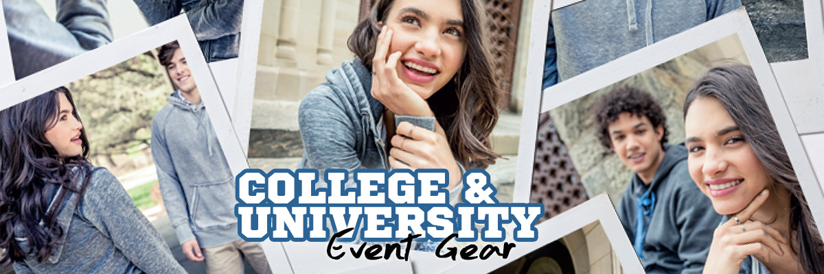 College and University Event Gear